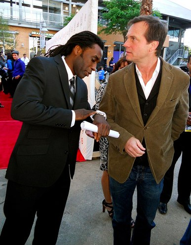 James Faust & Bill Paxton at Dallas IFF 2010