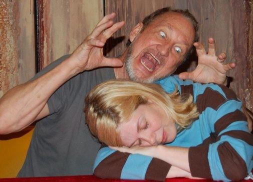 Rachel Morgan has a nightmare featuring Robert Englund.
