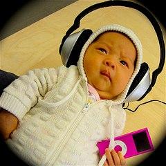Baby Podcast Listener!