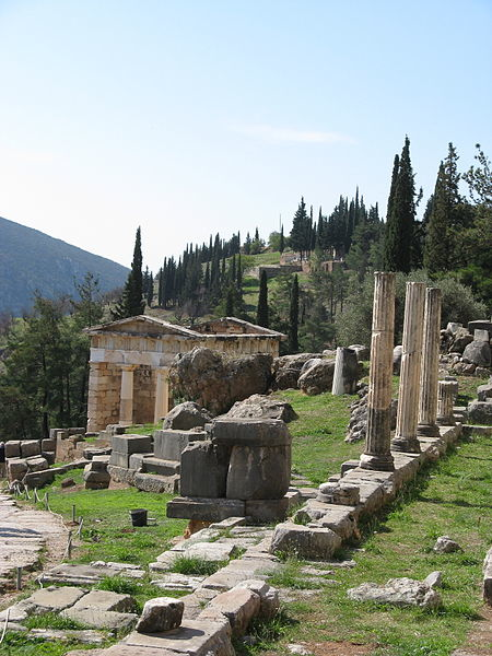 The oracle at Delphi was a popular divination site for a thousand years and was celebrated by countless leading thinkers and authors of the Classical Greek period.