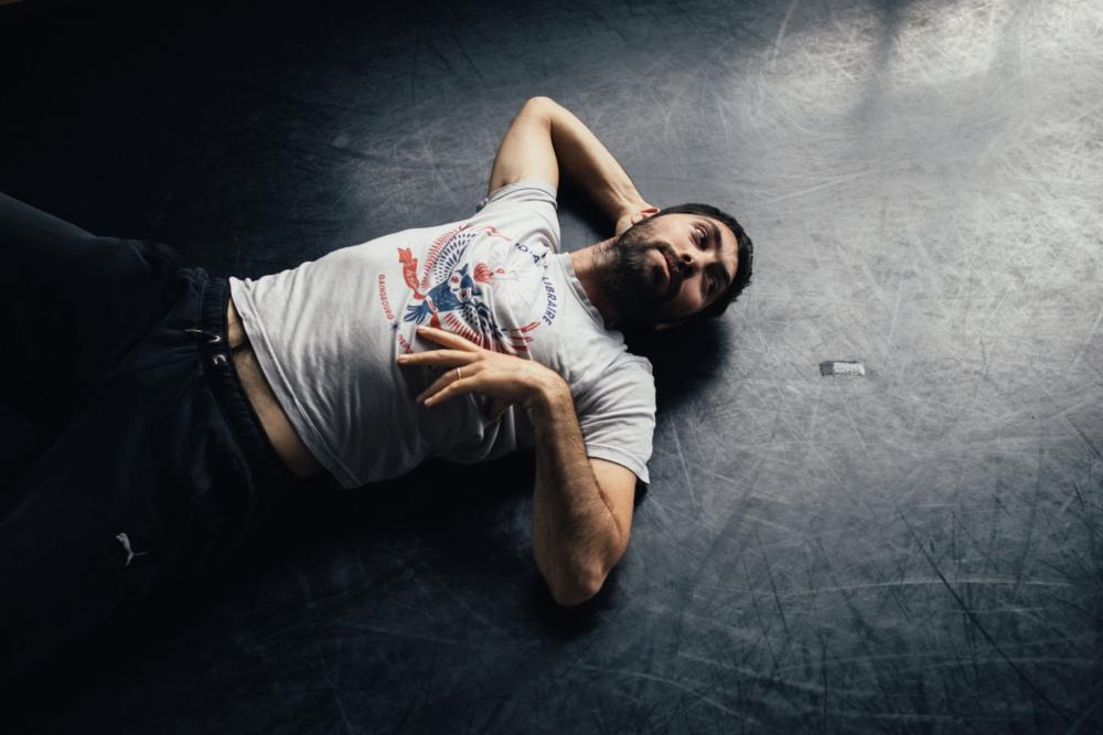The choreographer Roy Assaf, at the Baryshnikov Arts Center. Credit: Andrew White for The New York Times