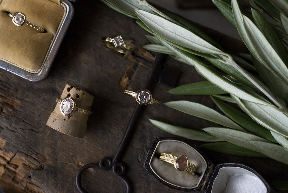 Product Photography for jeweler  Marilyn Brogan