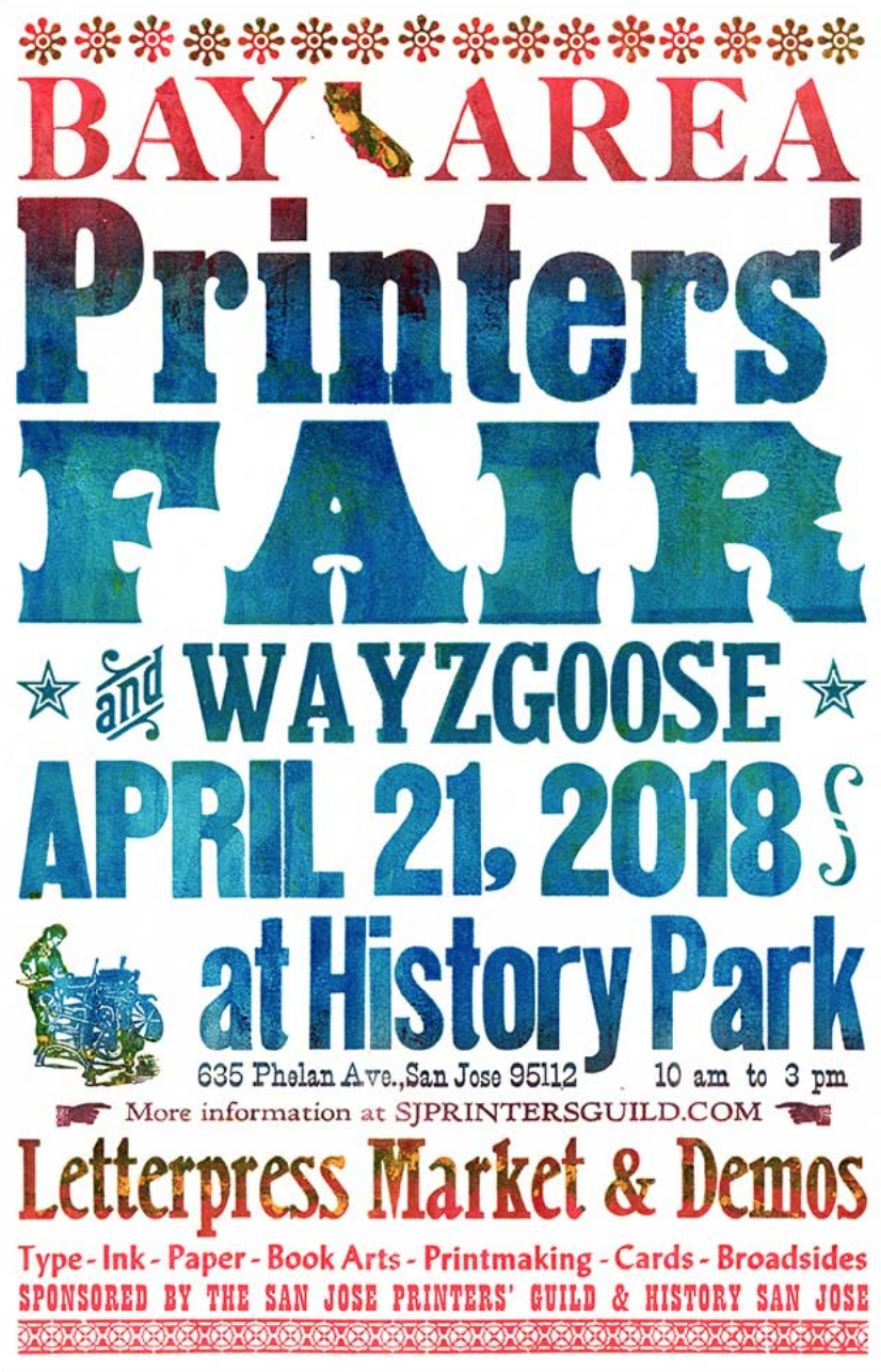 SF Bay Area Printers' Fair & Wayzgoose — Quill and Arrow