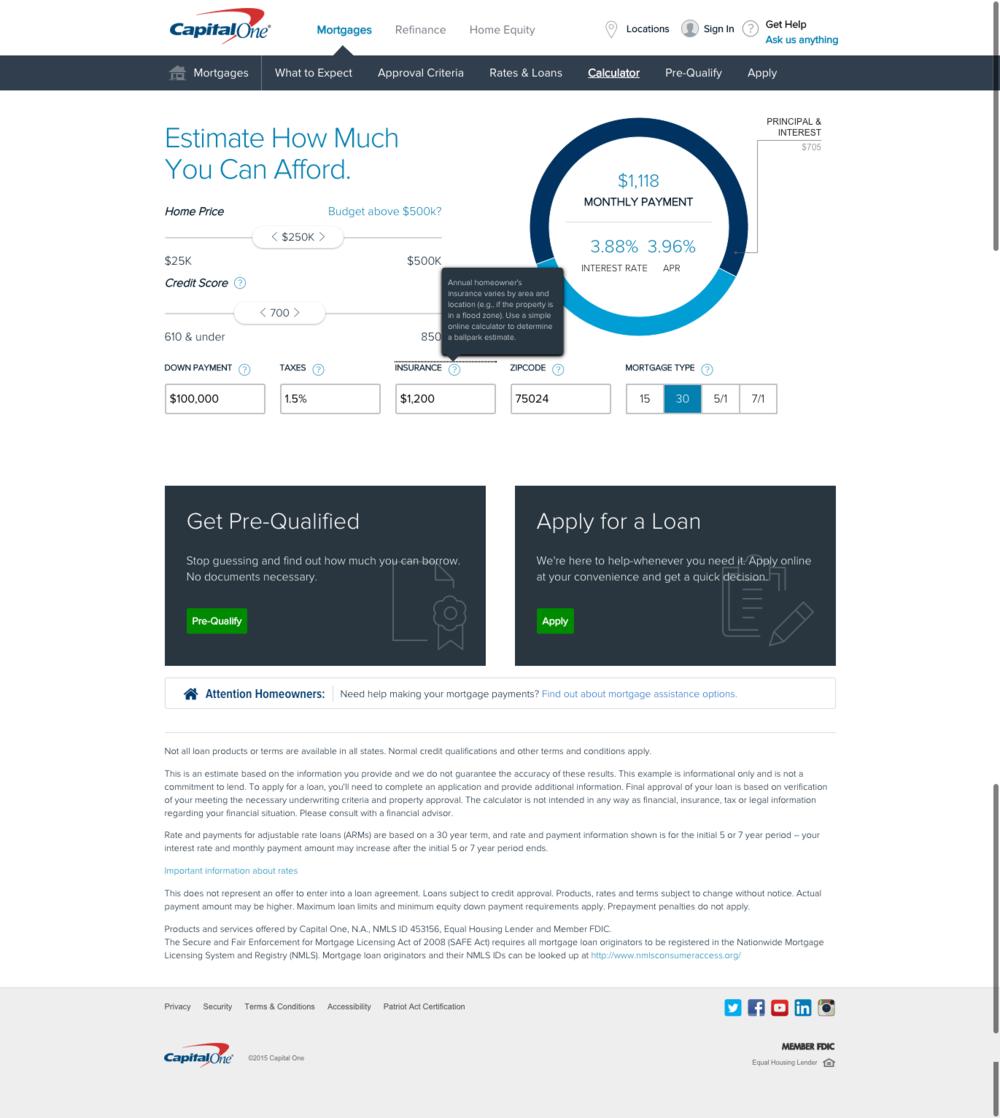 capital one home loans site copywriting jolène m bouchon