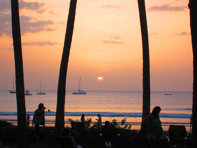 Sunset at Playa Tamarindo