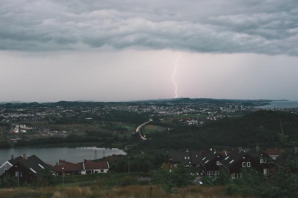 Sandnes, ride the lightning
