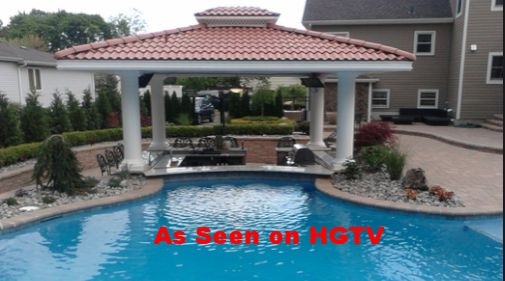 I built this Pavilion with a Sunken Swim up Bar and finished it with 16 inch Columns! Almon Builders also does Foundation and Stone work. Call for a free Estimate Today!