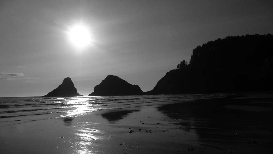 Oregon Coast at Sunset
