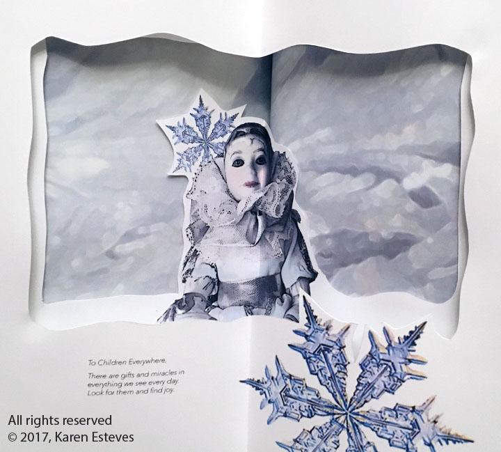 """Advent of Winter Solstice,"" handmade book"