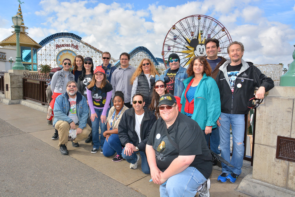 Disneyland Fan Club meetup ; Disney Photopass