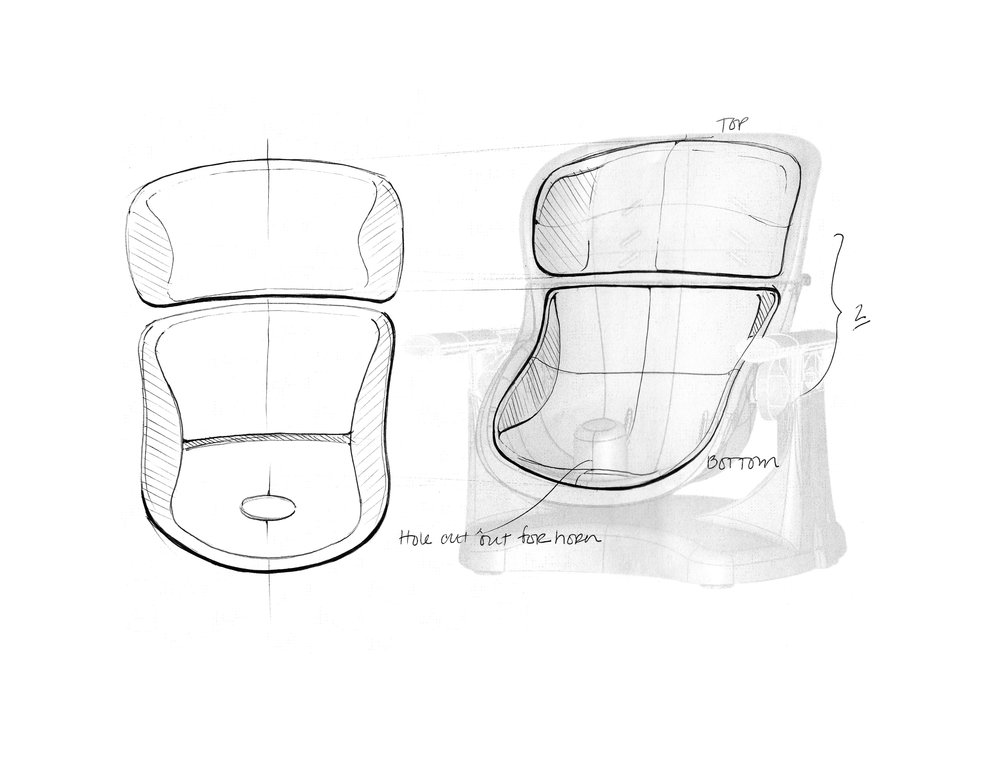 Smartclean Chairmate Chair Top High Chair
