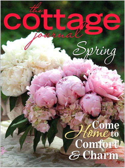 Heaven in a Blade of Grass article in The Cottage Journal Spring Issue, 2016