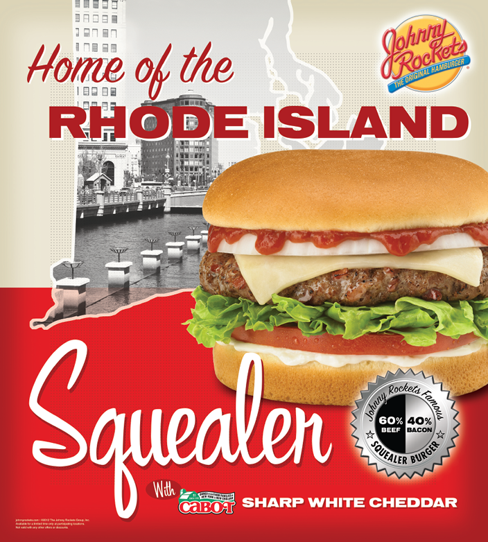 Johnny Rockets Regional Burger