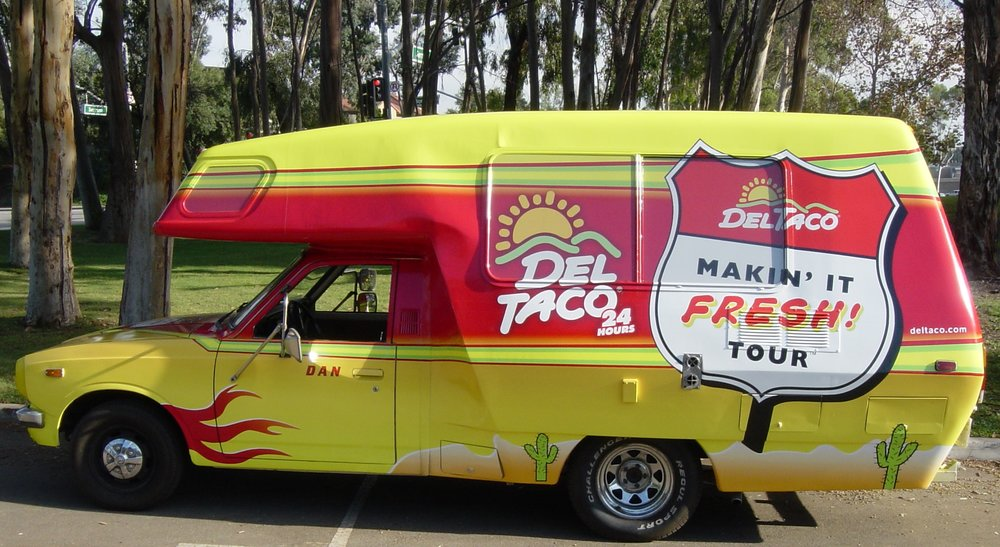 THE STRENGTH OF THE LEADER IS THEIR WEAKNESS - Del Taco leverages an underdog strategy to steal share from the Goliath in the category Taco Bell