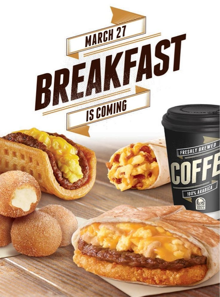 TACO BELL WAKES UP & SMELLS THE MONEY - A failure in the 90's, Taco Bell finally rings up sales with breakfast