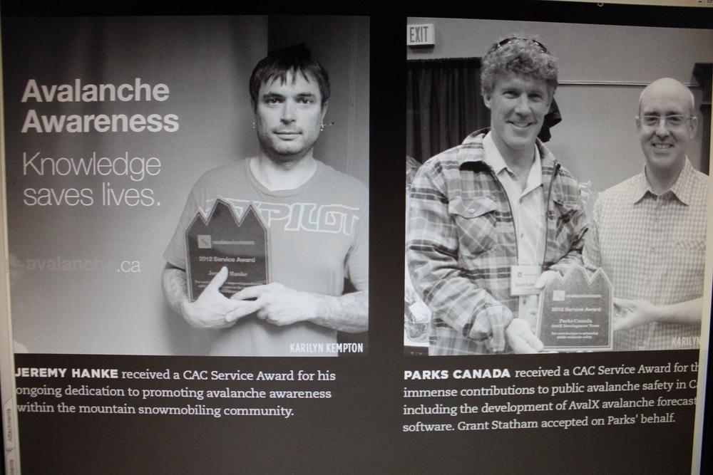 Jeremy wins a CAA Award