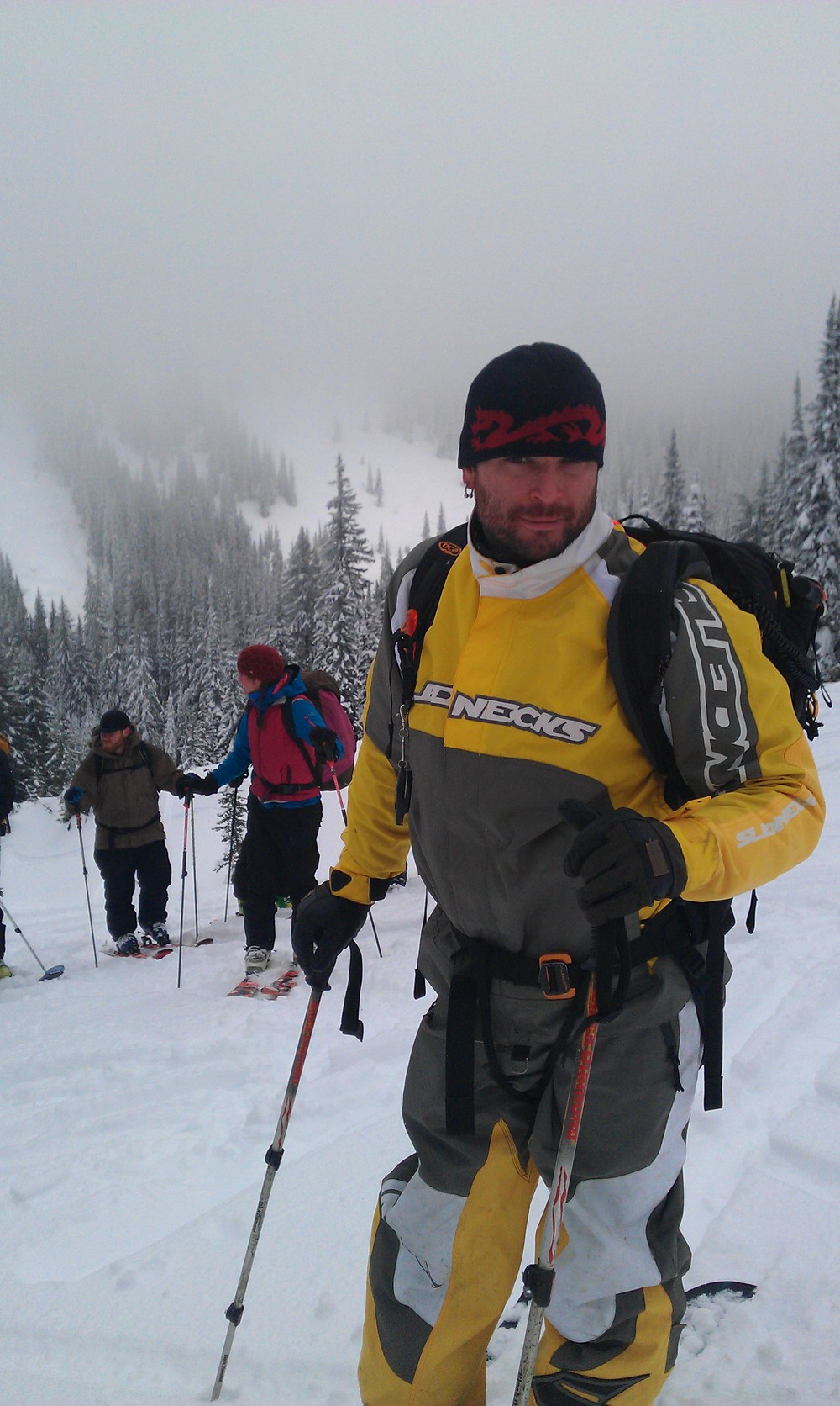 Long day of Split Boarding for my Avalanche Operations Level 2  Photo Curtis Pawliuk