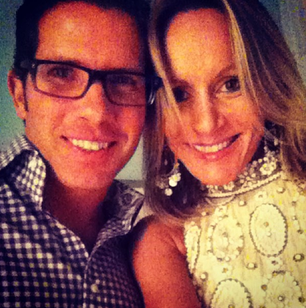 My fiancee Mira and I celebrating the new year in Palm Beach...