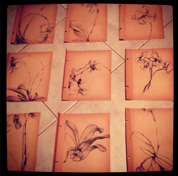 """""""Floral Series"""". 2012."""