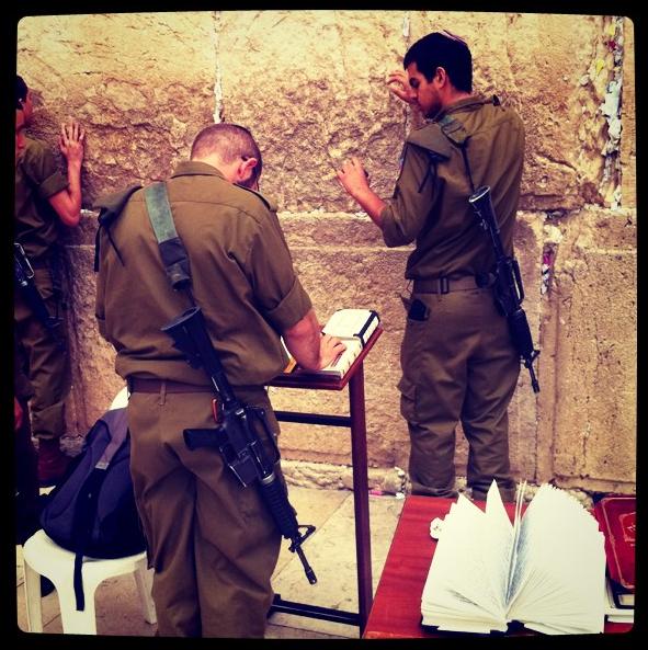 Wailing Wall, Jerusalem. 2011.