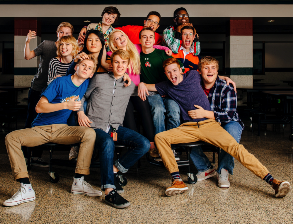 "2014 - 2015   Back 4: Jeff Estes (manager), Karina Ciocca*, John ""JC"" Christopher, Junior Gaie  Middle 5: Alexis VanMeter, Yujin Yang, Abby Robinson, Devin Stossmeister, Conor Bremer"
