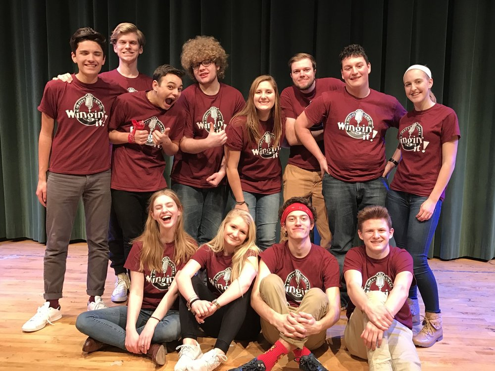 2016 - 2017   Back 8: Jacob Fisher*, Erik Praestgaard*, JC Collins-Bloomquist, Harry Wendelken*, Hayden Rowe*, Jake Chronister*, Dominick DeLorenzo, Becca Winton (manager)  Front 4: Ava Wendelken, Abby Robinson*, Matthew Keating, Coby Hallman*