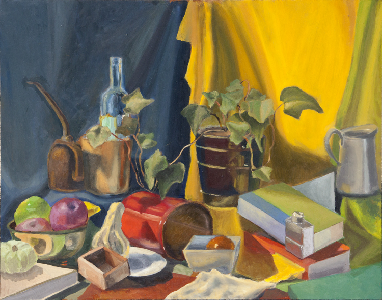 Large Still Life - Oil or Board - Mark Cela