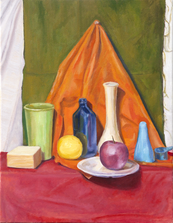 Shelf Still Life - Oil on Canvas - Mark Cela