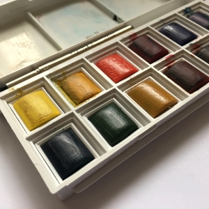 Winsor & Newton water colors