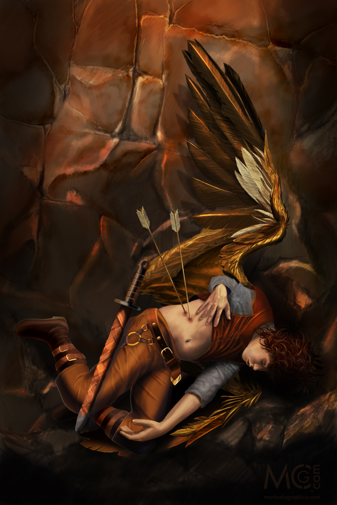 A Fallen Angel - Adobe Photoshop