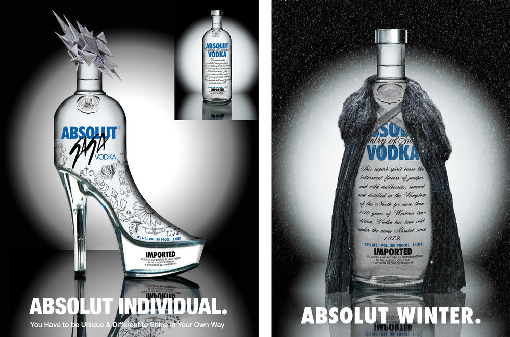 Copy of Absolut Vodka Brand Blending