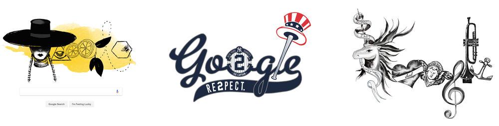 Google Doodles - Brand Blending