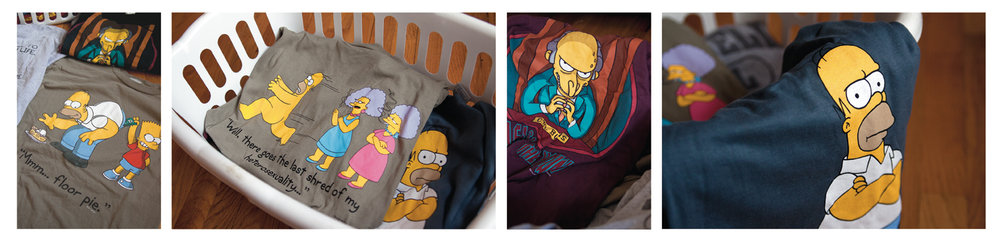 Simpsons Mass-Market Clothing Line