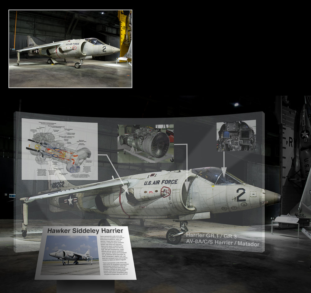 Kiosk Prototype - National Museum of USAF