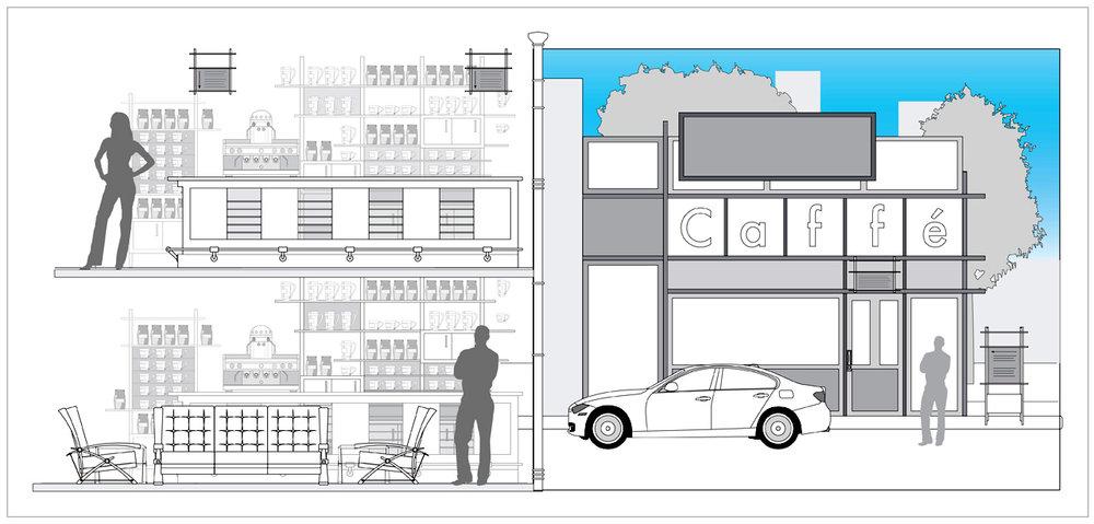Caffe´Buono Interior & Exterior Design Concepts