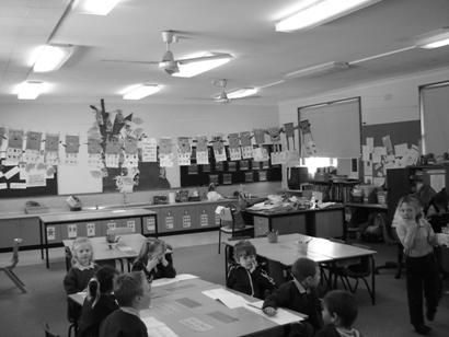 A 2005 Kindergarten room