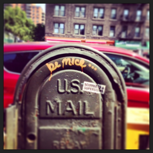 Daily Dose for Saturday, February 28, 2015, photo © ousiaarts.com 4th Avenue, Brooklyn || summer, 2014.