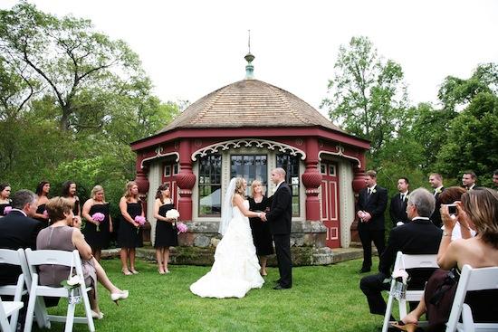 An Outdoor Pink Summer Wedding In Massachusetts