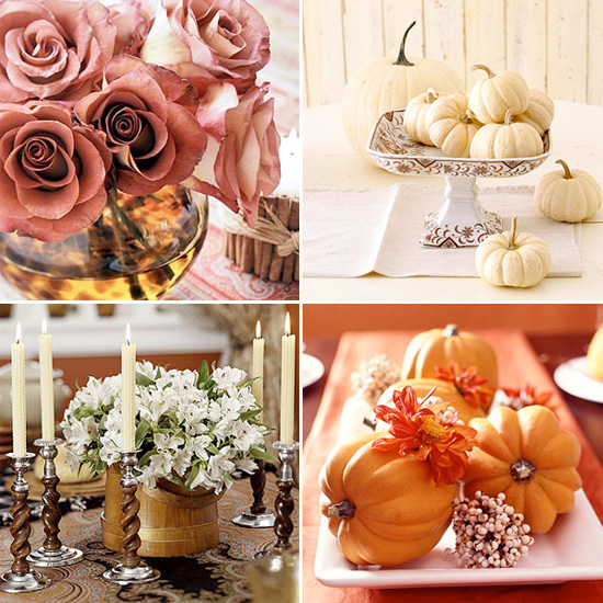 Simple Ideas for Fall Centerpieces {great for Thanksgiving too ...