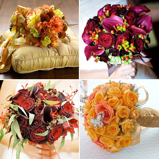 Bridal Bouquets For Fall Weddings