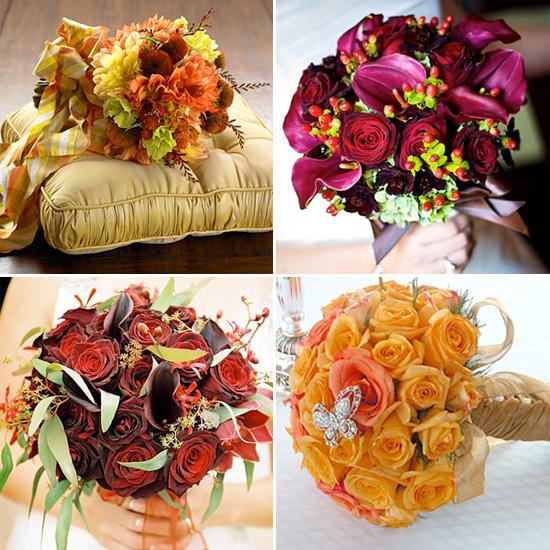 Wedding Flowers Autumn: Bridal Bouquets For Fall Weddings