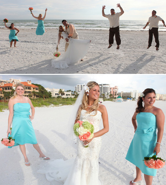 Real Wedding : Jenna And Barry In Florida {beach Island}