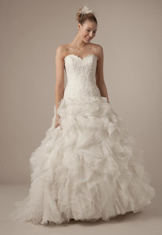 Sweetheart A-Line Gown in Tulle