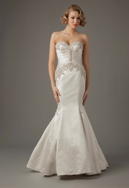 Sweetheart Mermaid Gown in Charmuse