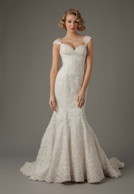 New spring wedding gown collections from kleinfeld alita for Kleinfeld mermaid wedding dresses