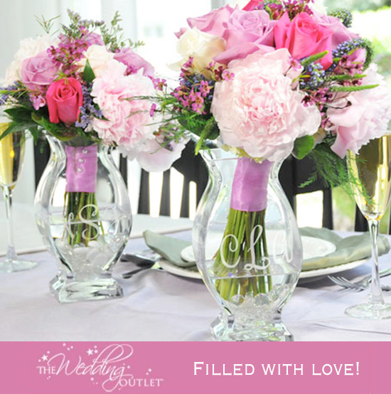 A Wedding Must Have : Vases filled with Love — Brenda's Wedding