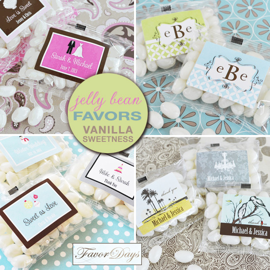 Friday Favor Of The Day Personalized Jelly Bean Packs
