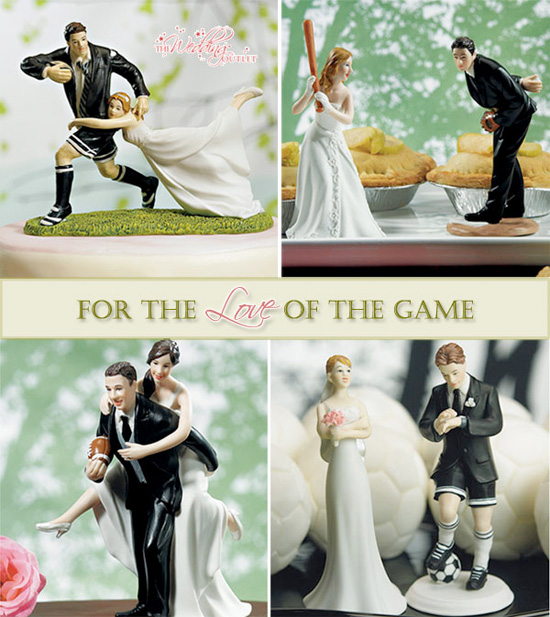 For The Love Of Game Incorporating Sports Into Your Wedding