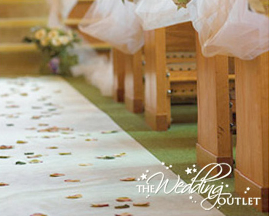 Spice Up Your Ceremony With A Personalized Aisle Runner