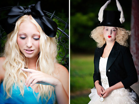 alice in wonderland photo shoot
